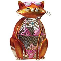 kitty with sunglasses fan