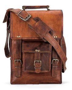 Bag Leather Vintage Messenger Shoulder Men Satchel S Laptop School Briefcase   4f86dbece45a9