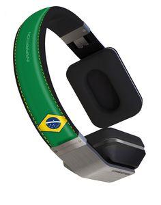 Inspiration Headphones - Brazil Country Headband