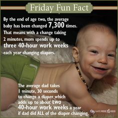 Fun diapering fact.