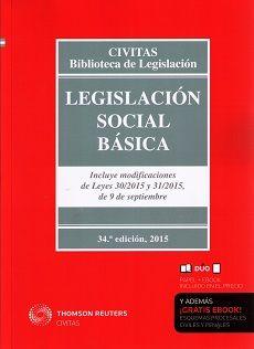 Legislación social básica / José E. Serrano Martínez y Marcial Sequeira de Fuentes