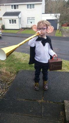 BFG costume. World book day 2016. World book day costume idea. Homemade costume.