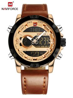 a4200a15ce8 Buy NAVIFORCE Men s Watch Casual Style All Match Fashion Quartz Watch    Men s Watches - at Jolly Chic