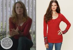 Shop Your Tv: Switched at Birth: Season 2 Episode 9 Daphne's Red Thermal Shirt