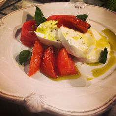 Insalata Caprese. Nothing banal about it.