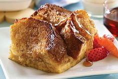 MakeAhead French Toast - My parents are coming for Christmas this weekend and this is one of the breakfast foods I'm making so everyone can eat when they want :-)
