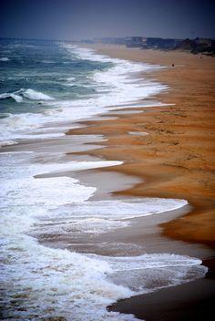 beach in Nags Head, North Carolina (by Patricia S)