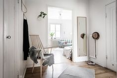 my scandinavian home: A calming swedish home in shades of grey