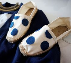Customiser des espadrilles à la façon Dolce & Gabbana - Journal des Femmes