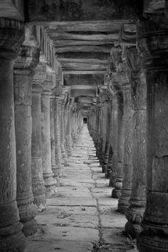 Tunnel at Angkor Wat