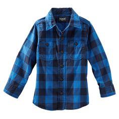 Buffalo Check Poplin Shirt