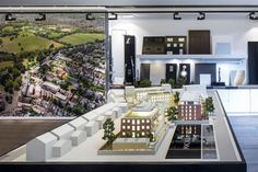 A new village in the Old Town – dn&co. Property Branding, Sales Center, Real Estate Sales, Contemporary Architecture, Old Town, Restoration, Walking, Mansions, House Styles