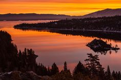 The views from both the land AND the water are absolutely incredible. This is an amazing spot to take in the sunrise or see the starlit lake at night. The View at Emerald Bay is not to be missed.