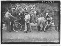 Tour de France 1936, 6e étape Évian-Aix les Bains le 13 juillet : victime d'une…