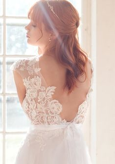 Illusion wedding dress - lace wedding dress from Batel Boutique Lace Wedding, Wedding Dresses, Siena, Dress Lace, Illusions, Mesh, Boutique, Collection, Fashion