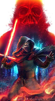 Star Wars the Force Awakens - Fanart on Behance