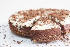 Bolo Semi-Frio de Chocolate | SaborIntenso.com