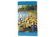 Conde Nast Beach Towel - Central Park on OneKingsLane.com