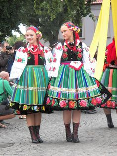 Polish Folk Dress  Marcia and me (Polish Falcons)
