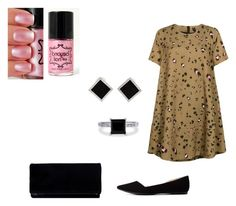"""""""Untitled #107"""" by adri-98 on Polyvore featuring Essentiel, Charlotte Russe, Yvel and BERRICLE"""