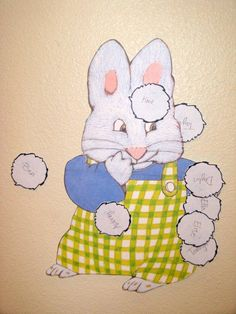 max and ruby pin the tail on max | Skip to Mellu: Cayley's Max and Ruby party