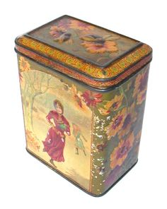British Biscuit Tins - Carr &Co 1884