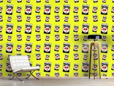 Design #Tapete Koste Die Kirschmarmelade