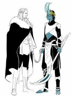 Thor & Jotun Loki    Cr: 마음박는 머거