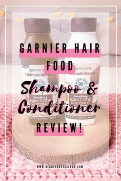 Garnier Hair Food Shampoo & Conditioner Review! [ Beauty Obsessed ] Sleek Hairstyles, Straight Hairstyles, Coconut Shampoo, Good Enough To Eat, Hair Care Routine, Smooth Hair, Damaged Hair, Shampoo And Conditioner, Fine Hair