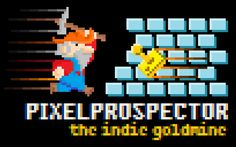 "PixelProspector Art ""Super Prospector Bros."" by mheona http://twitter.com/mheona"