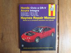 honda crv 1996 workshop manual