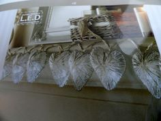 VINTAGE SHABBY CHIC STYLE METAL SILVER HEART LIGHTS  10 X HEARTS BEDROOM FAIRY