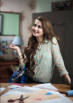 Actress Hania Aamir Commercial Photoshoot with Double Role