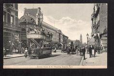Brixton-Brixton-Road-S-W-showing-Electric-Car-printed-postcard