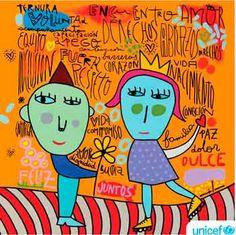 Mi Sala Amarilla: Proyecto de Arte Milo Lockett Face Expressions, Bart Simpson, Art For Kids, Needlework, Deco, Illustration, Artwork, Painting, Fictional Characters