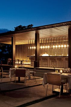 Near the black-sand beach, Coast restaurant is one of the on-site dining options. #Jetsetter