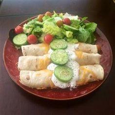 Easy Chicken Enchiladas - Allrecipes.com