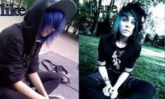 #Emo #Scene #Gothic #Punk #Fashion #Meme