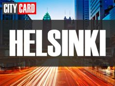 HELSINKI Helsinki, Logos, City, Cards, Logo, Cities, Maps, Playing Cards