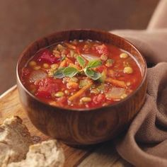 This is a nice warming soup on a chilly day. Lentils are so good for you, too! —Mary Smith, Columbia, Missouri Italian Lentil Soup Recipe, Lentil Soup Recipes, Low Fat Soups, Homemade Spaghetti Sauce, White Bean Soup, Gluten Free Rice, Soup Mixes, Thing 1, How To Cook Sausage