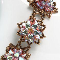 Poinsettia Bracelet by Cindy Holsclaw