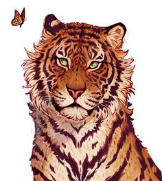 "Excellent ""abstract artists iii"" info is offered on our site. Animal Sketches, Animal Drawings, Cool Drawings, Art Sketches, Tiger Drawing, Tiger Art, Big Cats Art, Furry Art, Pretty Art"