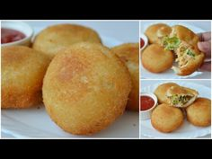 Crispy Bread Balls are delicious snacks which can be made without much an effort from bread, boiled and shredded pieces of chicken, maynnaise and vegetable. Quick Snacks, Yummy Snacks, Snack Recipes, Cooking Recipes, Yummy Food, Tofu Recipes, Mayo Chicken, Chicken Snacks, Snacks