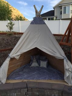 Build an Outdoor Teepee in a Day for about $150