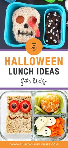 Halloween is super-fun, but it doesn't have to be all about sweets and candy. Check out these inspired Halloween lunch ideas and surprise your kids with a fun, healthy, and delicious lunch this Halloween. #halloween #halloweencraft #halloweendiy #crafts #kidscrafts #kidsactivities #activities #craftideas #funforkids Halloween Lunch Ideas, Halloween Treats For Kids, Halloween Party Themes, Halloween Crafts, Crafts For Kids To Make, Christmas Crafts For Kids, Kids Crafts, Creative Kids, Kid Friendly Meals