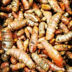 Tumeric root!  I grate it into my savory cooking...when I can get it! Talk about anti-inflammatory!