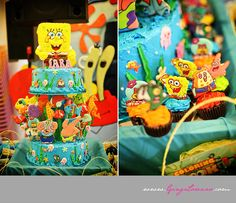 Party theme: Spongebob Squarepants
