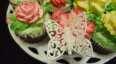 "Great ""Royal Icing"" How to make a butterfly with Australian Lace, ,"