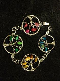 4 Seasons Tree of Life Bracelet