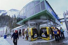 Sunshine Village Ski Resort Alberta
